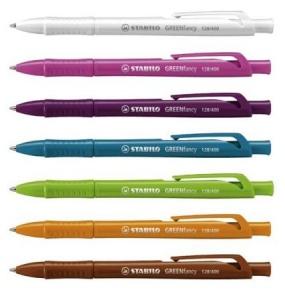 stylo bille green