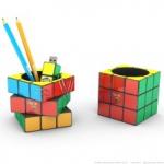 pot crayon rubiks cube