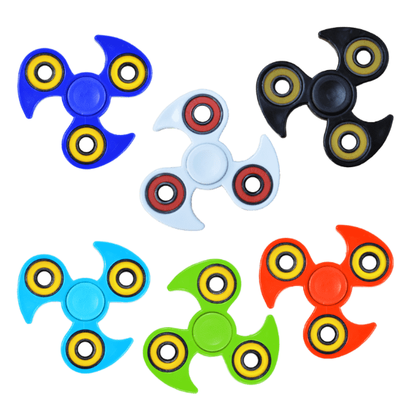 Hand spinner metal coloris
