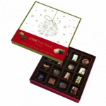 chocolats personnalisés noel