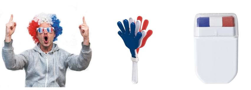 accessoires pour supporters équipe de foot France