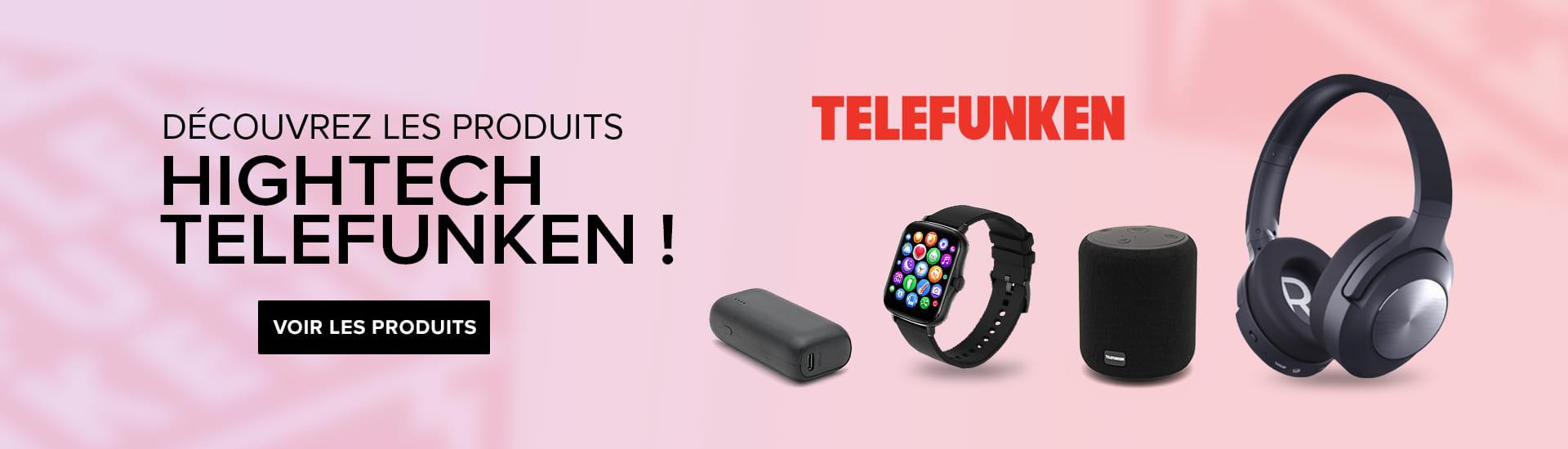 Bannière produits Telefunken 2021