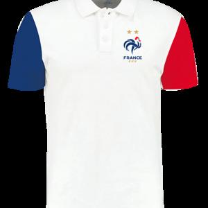 polo tricolore publicitaire fff